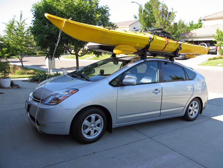 Anyone Here Drive A Prius With Either A Roof Rack Or Hitch
